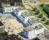 Bad Krozingen, Kurgarten I, Mozartplatz: Luftbild