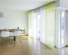 Musterwohnung, Wohnzimmer – Blick auf Essplatz (nur zur Veranschaulichung)