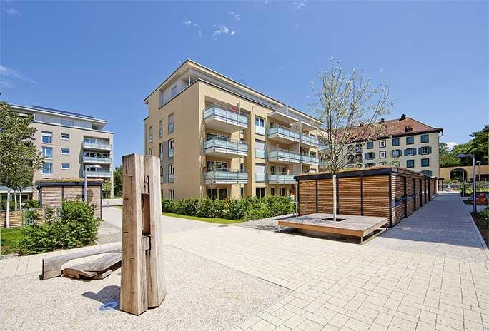 Freiburg, Komturstraße: Eigentumswohnungen