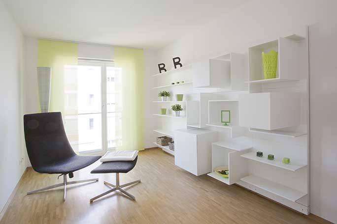Musterwohnung, Büro oder Kinderzimmer (nur zur Veranschaulichung)